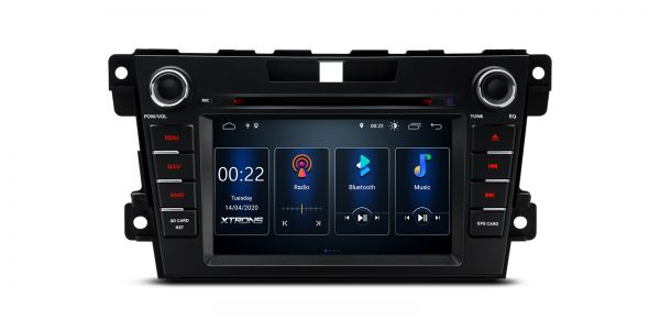 Mazda | CX-7 |Built-in DSP |Android 10 | 2GB RAM & 16GB ROM | PSD70CX7M