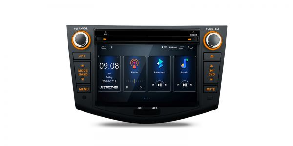 Toyota | RAV4 | Built-in DSP |Android 10 | 2GB RAM & 16GB ROM | PSD70RVT
