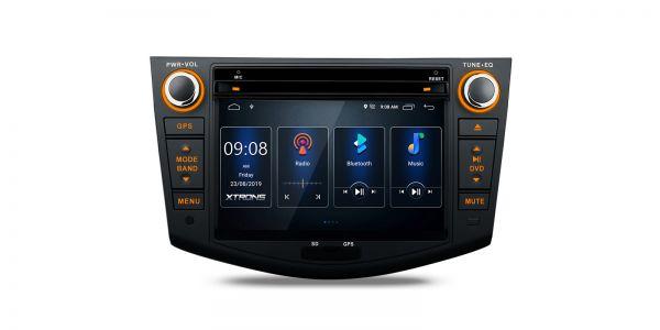 Toyota   RAV4   Built-in DSP  Android 10   2GB RAM & 16GB ROM   PSD70RVT