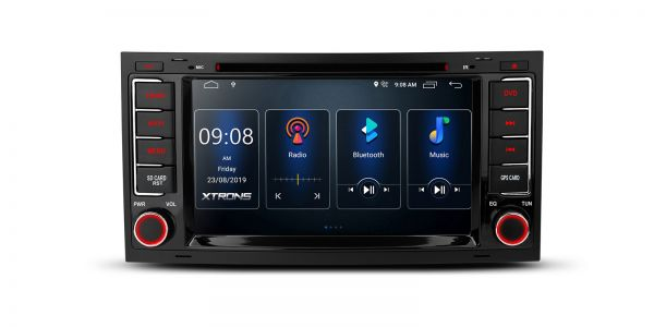 Volkswagen | Various | Built-in DSP |Android 10 | 2GB RAM & 16GB ROM | PSD70TRV