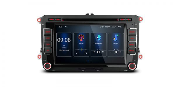 VW / SEAT / SKODA | Various | Built-in DSP |Android 9.0 | 2GB RAM & 16GB ROM | PSD79MTVP