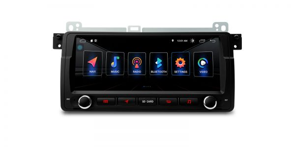BMW / Rover / MG | Various | Built-in DSP |Android 10 | 2GB RAM & 16GB ROM | PSD8046BL