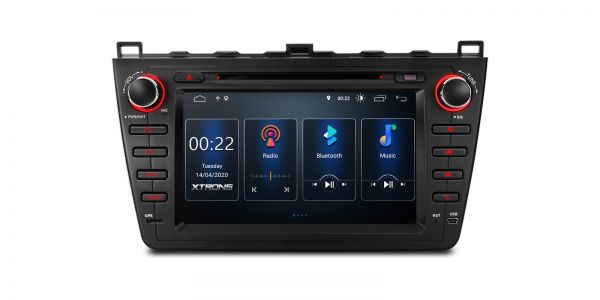 Mazda 6 | Built-in DSP |Full RCA Output | Android 10 | 2GB RAM & 16GB ROM | PSD80M6M