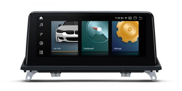 BMW | Android 10 | Qualcomm Quad Core | 2GB RAM & 32GB ROM | Built-in CarAutoPlay/Android Auto | QCB10X5CIS