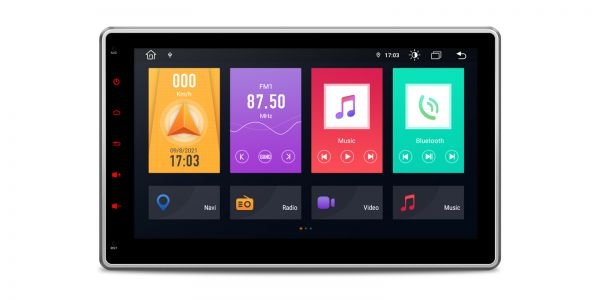 Double DIN  | Android 10 | Octa Core | DDR4 Memory |2GB RAM & 32GB ROM |TME100L