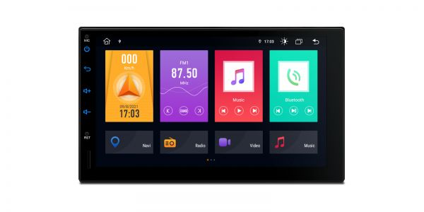 Double DIN  | Android 10 | Octa Core | DDR4 Memory |2GB RAM & 32GB ROM | TME701L