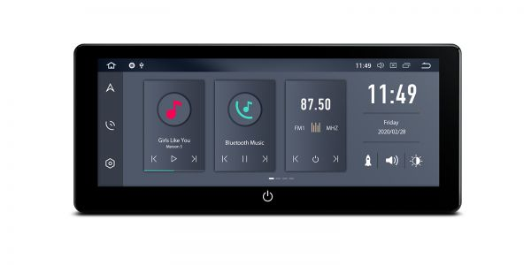 Universal | Double Din | Android 10 | Hexa Core | 4GB RAM & 64GB ROM | TQ125L
