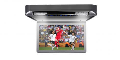 13.3-inch Car Overhead DVD Player | CR133HDVSGrey