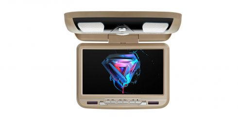 Car Overhead DVD Player | 9 inch | DVD Player | CR9033Cream