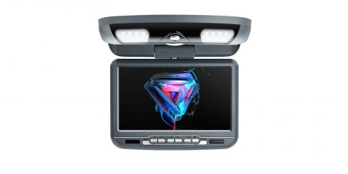Car Overhead DVD Player | 9 inch | DVD Player | CR9033Grey