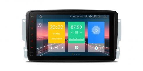 Mercedes-Benz | Various | Android 10 | Quad Core | 2GB RAM & 16GB ROM | IN80M203EL