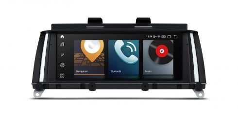 BMW | X3 | Android 10 | Qualcomm | Octa Core | 4GB RAM & 64GB ROM | QB80X3CI