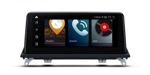 BMW | X5/X6 | Android 10 | Qualcomm | Octa Core | 4GB RAM & 64GB ROM | QSB10X5CC