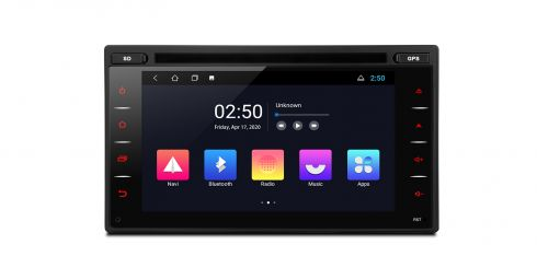 Double Din | Nissan | Android 10 | Quad Core |1GB RAM & 16GB ROM | TCD601