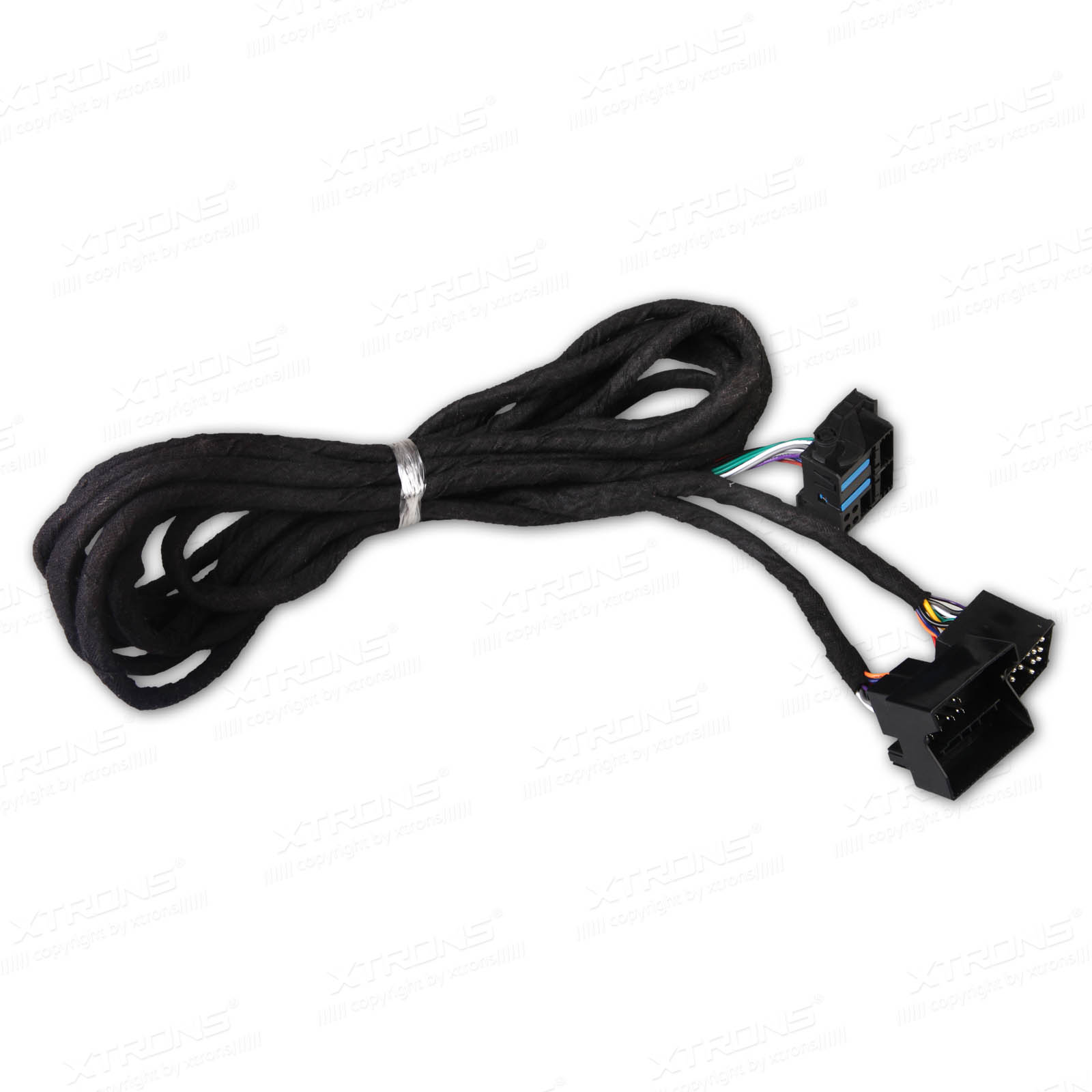 Extra Long 6 Meters Iso Wiring Harness For Bmw Suitable Head E46 17 Pin Plug Prevnext