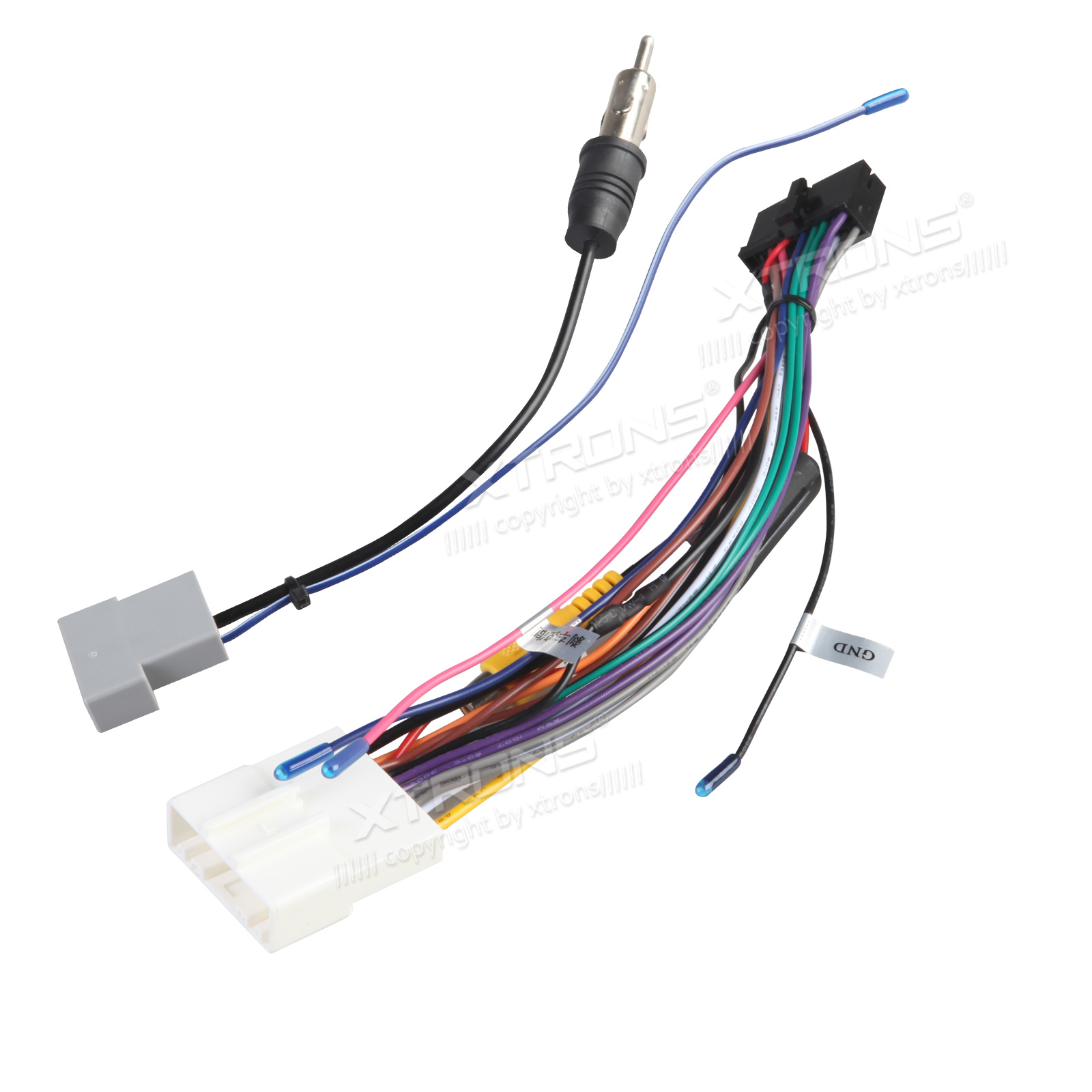 buy car media fitting and accessories xtrons iso wiring harness for the installation of xtrons td626ab td626abd in nissan cars