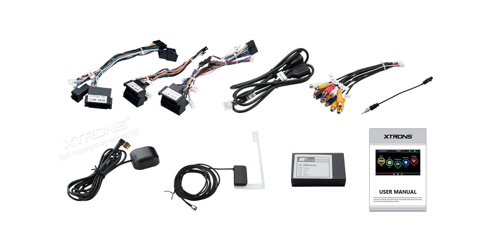 Buy Mercedes Benz Wince Car Stereo E Class Cls Xtrons Radio Wiring Harness Adapter Iso Prevnext