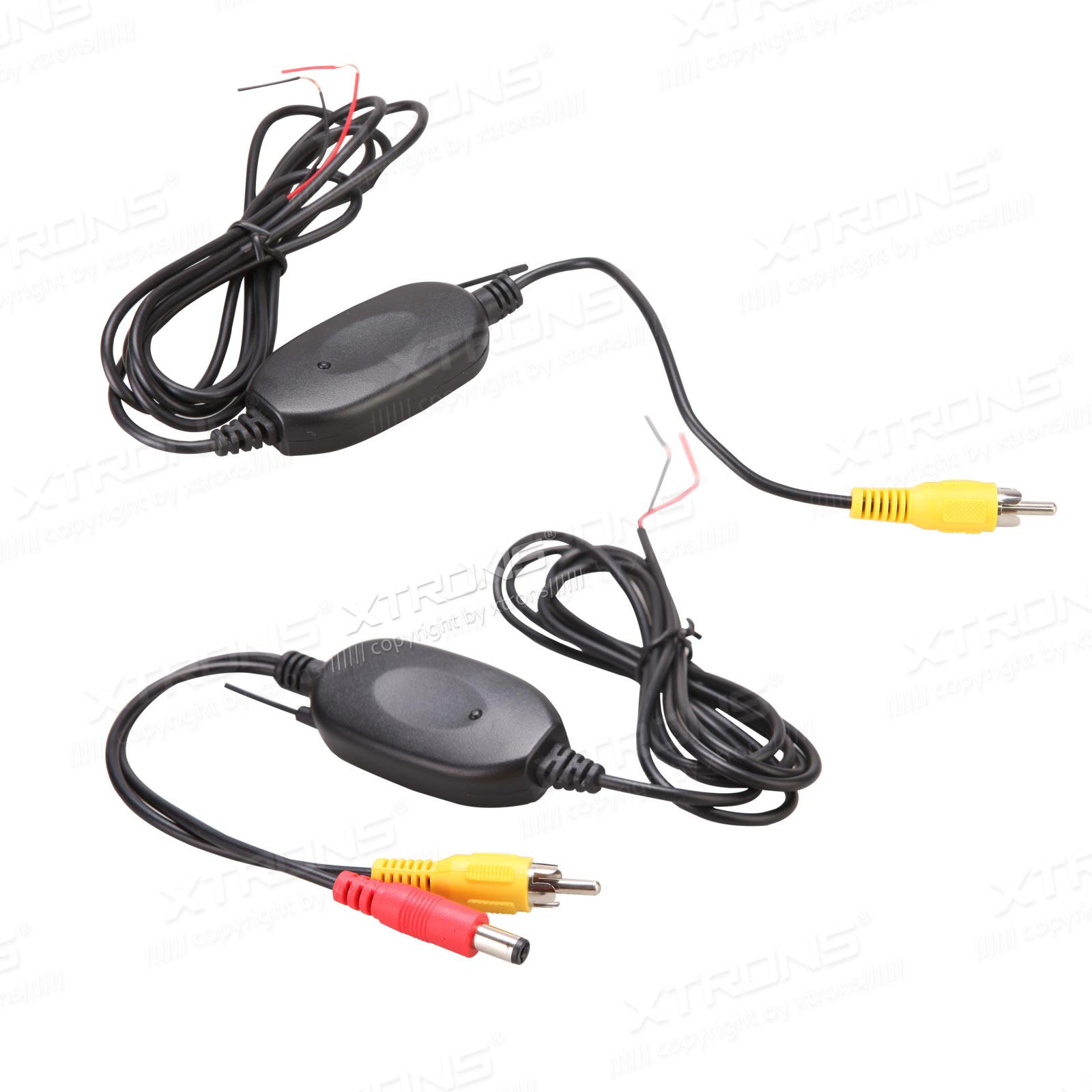 24g Wireless Rca Video Transmitter Receiver For Car Reversing Wiring Plug Cameras Xtrons